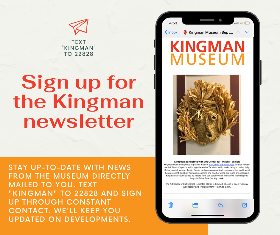 Information about signing up for the email newsletter.